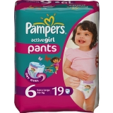 Трусики Pampers ActiveGirl Extr Large 19