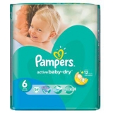 Подгузники Pampers Active Baby  Maxi Junior 24 шт