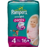 Трусики Pampers Active Girl Maxi 16