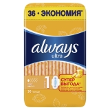 Прокладки Always Ultra Light Quatro 36шт