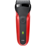 Бритва BRAUN SHAVER 300 BLK/RED BOX EURO