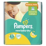 Подгузники Pampers New Baby New Born №1 Pack 27 шт
