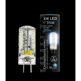 Лампа Gauss LED GY6.35 AC185-265V 3W 4100K 1/20/200
